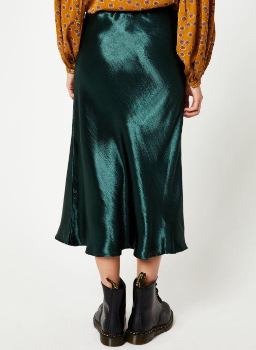 Vêtements Louche TEHANI SATIN Vert vue portées chaussures