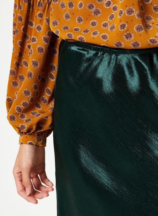 Vêtements Louche TEHANI SATIN Vert vue face