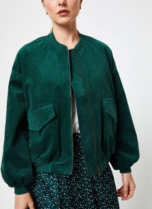 Vêtements Louche WALT CORD Vert vue droite