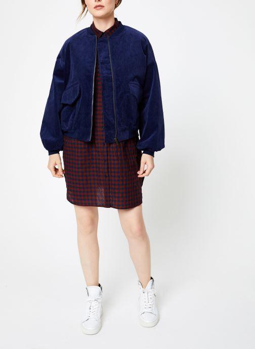 Vêtements Louche WALT CORD Bleu vue bas / vue portée sac