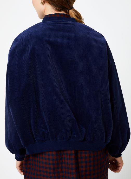 Vêtements Louche WALT CORD Bleu vue portées chaussures
