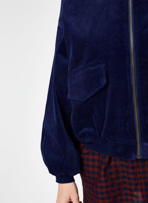 Vêtements Louche WALT CORD Bleu vue face