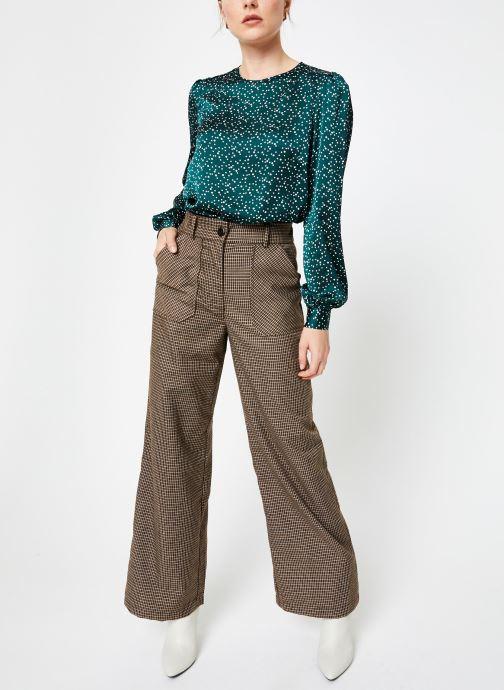 Vêtements Louche LIMA SPECKLE Vert vue bas / vue portée sac