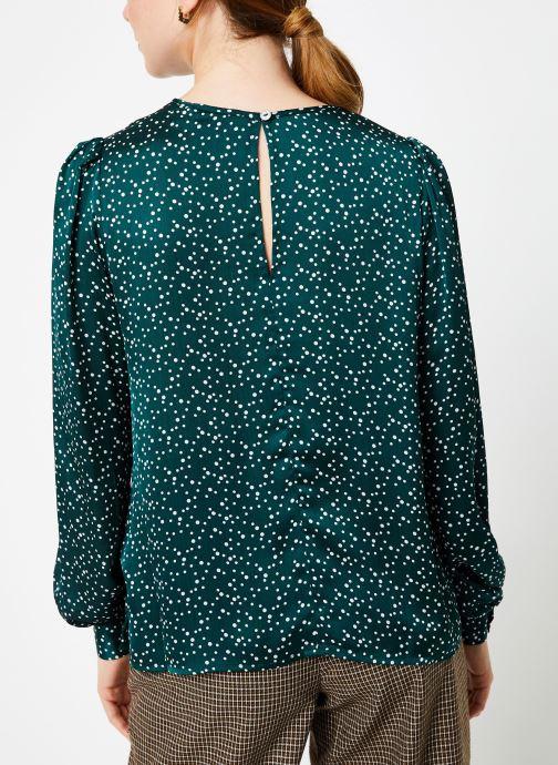 Vêtements Louche LIMA SPECKLE Vert vue portées chaussures