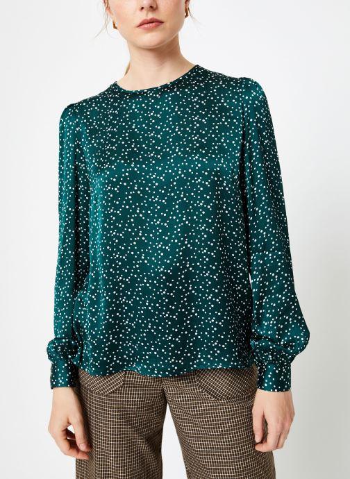 Vêtements Louche LIMA SPECKLE Vert vue droite