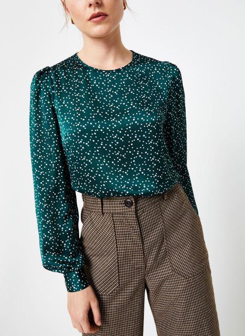 Vêtements Louche LIMA SPECKLE Vert vue détail/paire
