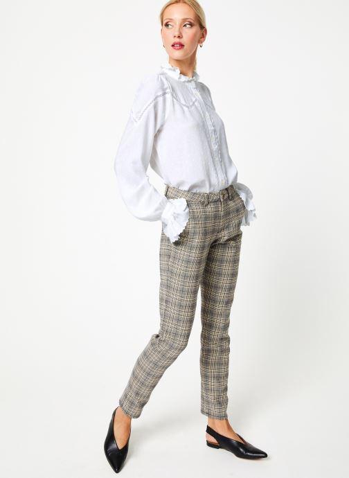 Vêtements Louche HAMA Blanc vue bas / vue portée sac