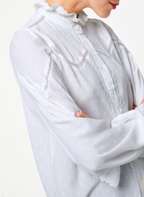 Vêtements Louche HAMA Blanc vue face