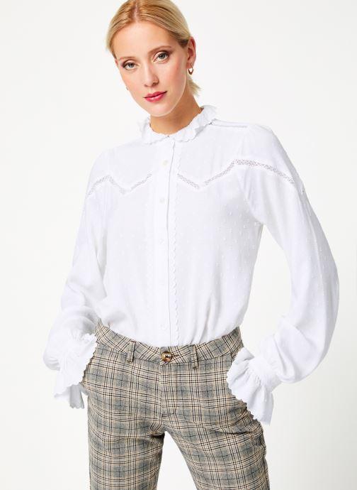 Vêtements Louche HAMA Blanc vue droite