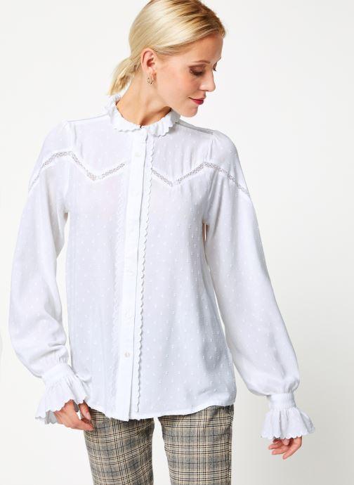 Vêtements Louche HAMA Blanc vue détail/paire
