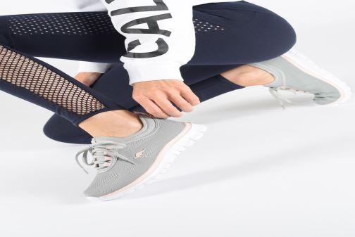 Sneaker Kangaroos K-Run Neo C grau ansicht von unten / tasche getragen