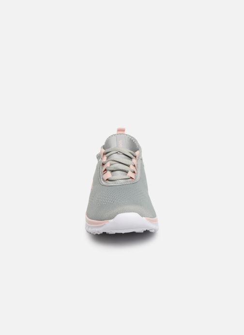 Sneaker Kangaroos K-Run Neo C grau schuhe getragen