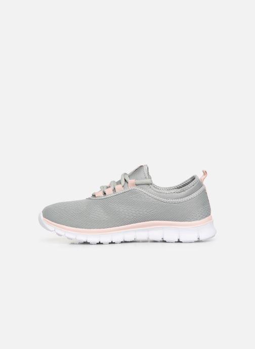 Sneaker Kangaroos K-Run Neo C grau ansicht von vorne