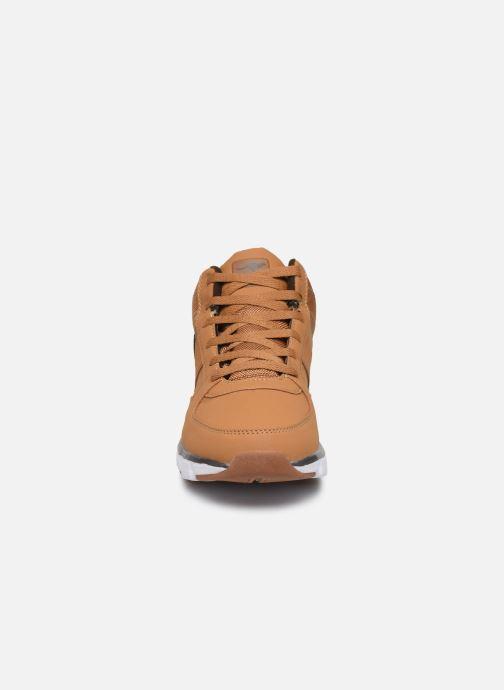 Baskets Kangaroos Caspo RTX C Marron vue portées chaussures