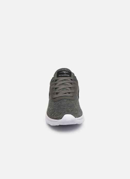 Sneaker Kangaroos K-Move C grau schuhe getragen