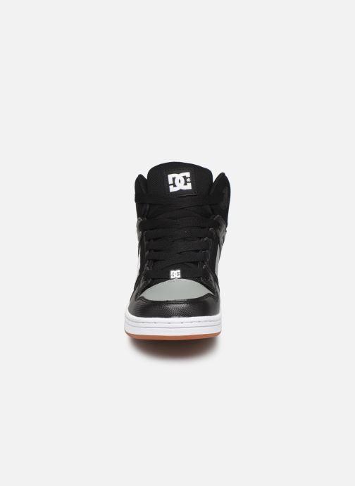 Baskets DC Shoes Pure High-Top Noir vue portées chaussures
