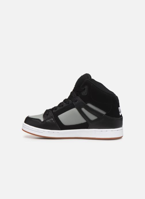 Baskets DC Shoes Pure High-Top Noir vue face
