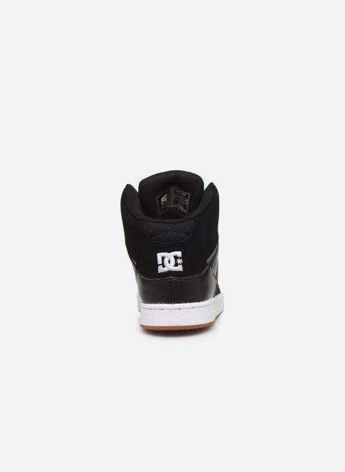 Baskets DC Shoes Pure High-Top Noir vue droite
