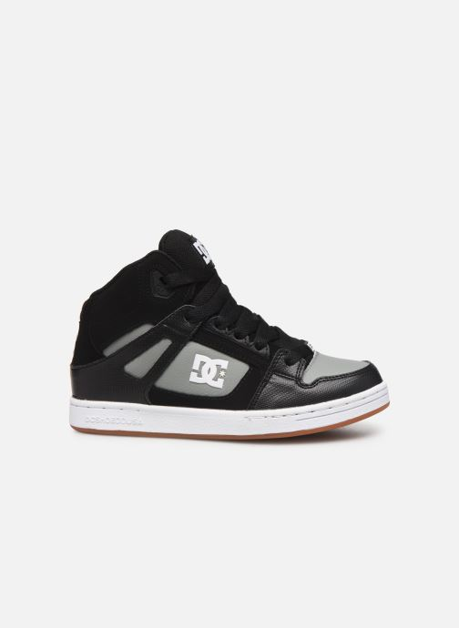 Baskets DC Shoes Pure High-Top Noir vue derrière