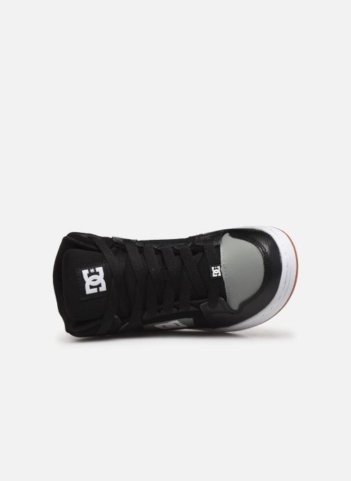 Baskets DC Shoes Pure High-Top Noir vue gauche