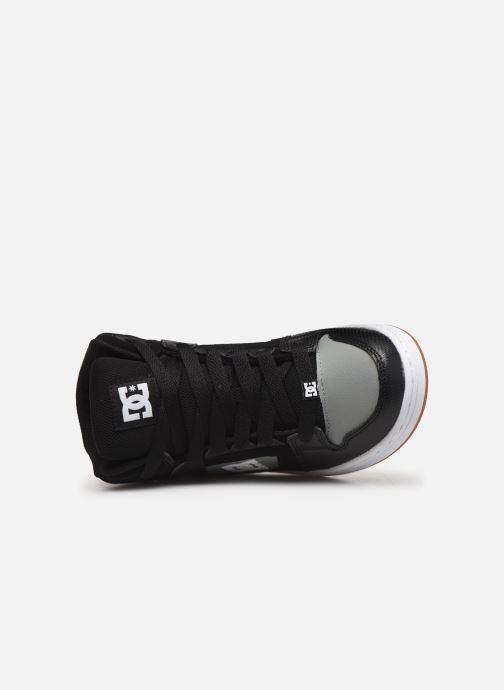 Baskets DC Shoes Pure High-Top Noir vue gauche