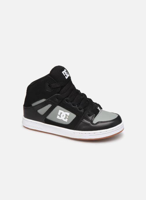 Baskets DC Shoes Pure High-Top Noir vue détail/paire