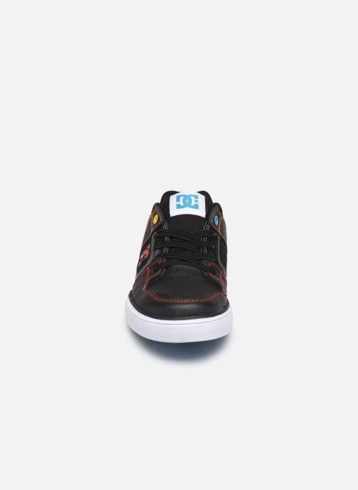 Baskets DC Shoes Pure Elastic Noir vue portées chaussures