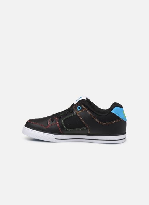 Baskets DC Shoes Pure Elastic Noir vue face