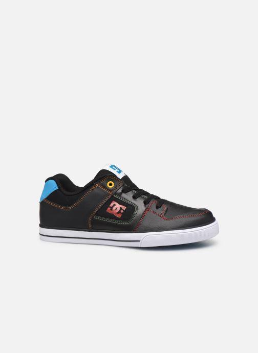 Baskets DC Shoes Pure Elastic Noir vue derrière