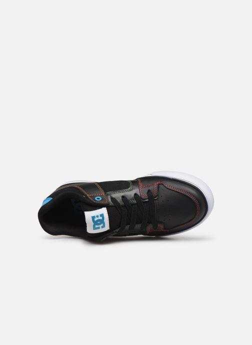 Baskets DC Shoes Pure Elastic Noir vue gauche