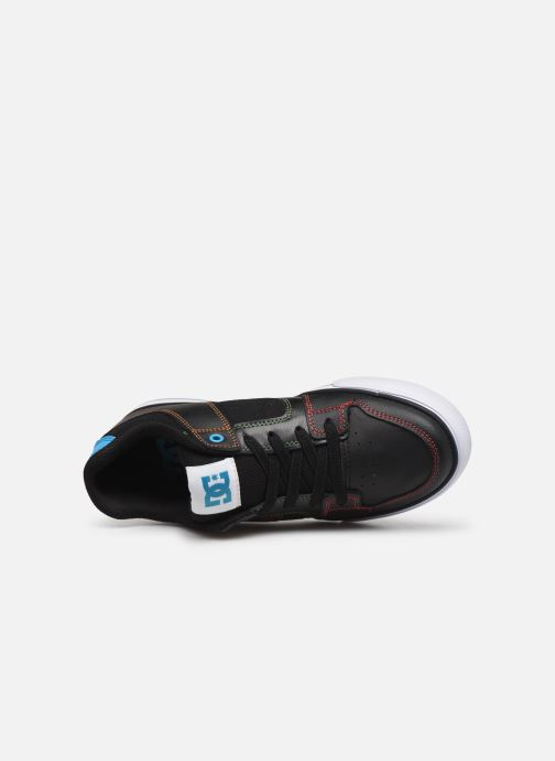 Baskets DC Shoes Pure Elastic Noir vue gauche