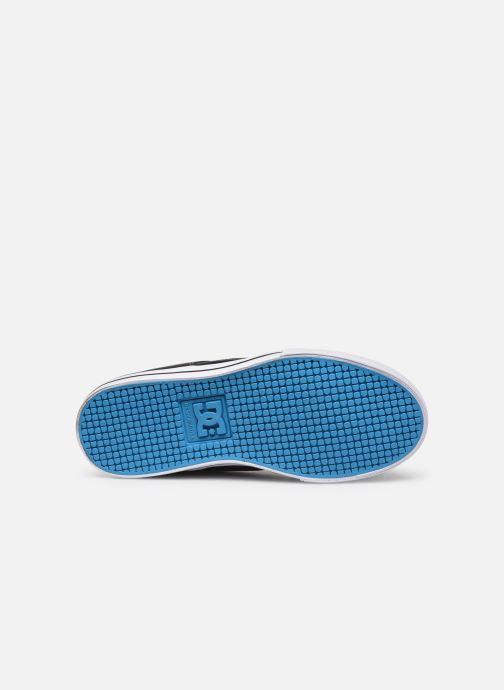 Baskets DC Shoes Pure Elastic Noir vue haut