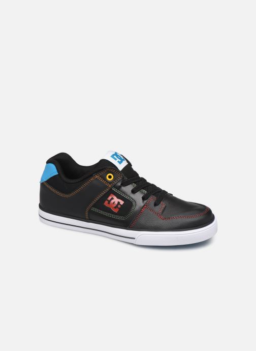 Baskets DC Shoes Pure Elastic Noir vue détail/paire