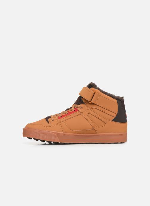 Baskets DC Shoes Pure High-Top Wnt Ev Marron vue face