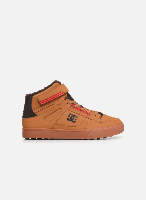 Sneaker DC Shoes Pure High-Top Wnt Ev braun ansicht von hinten