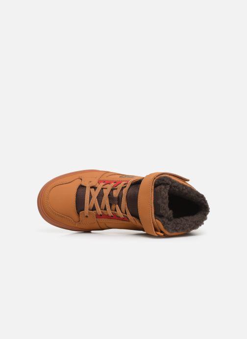 Baskets DC Shoes Pure High-Top Wnt Ev Marron vue gauche