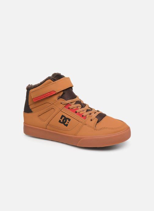 Baskets DC Shoes Pure High-Top Wnt Ev Marron vue détail/paire