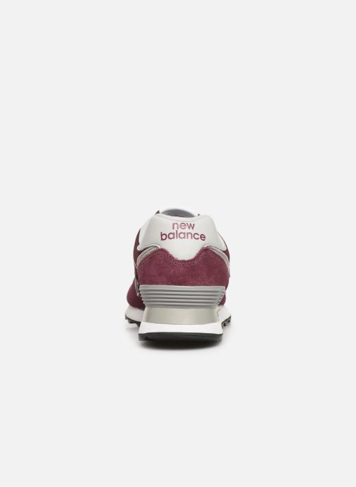 Sneakers New Balance WL574 B Bordeaux rechts