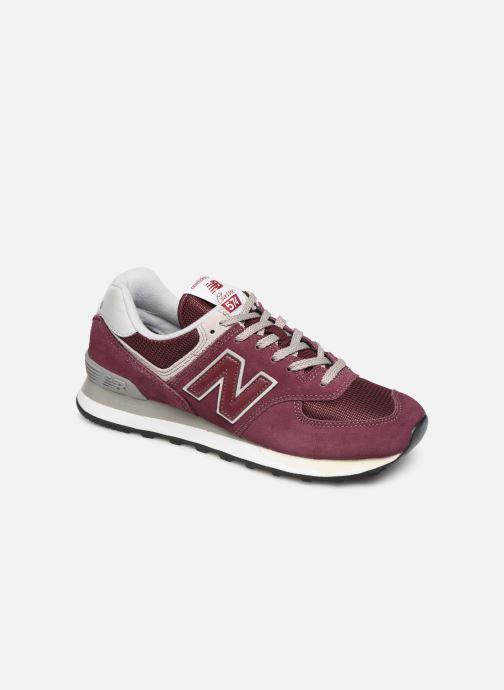 Sneakers New Balance WL574 B Bordeaux detail