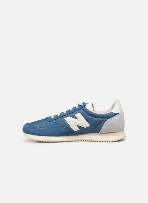 Sneakers New Balance U220 D Blauw voorkant