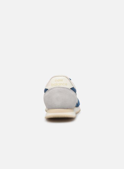Sneakers New Balance U220 D Blauw rechts