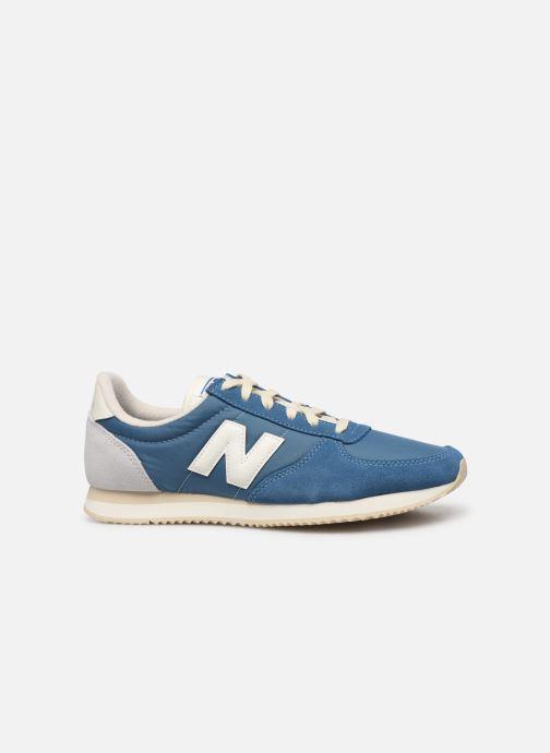 Sneakers New Balance U220 D Blauw achterkant