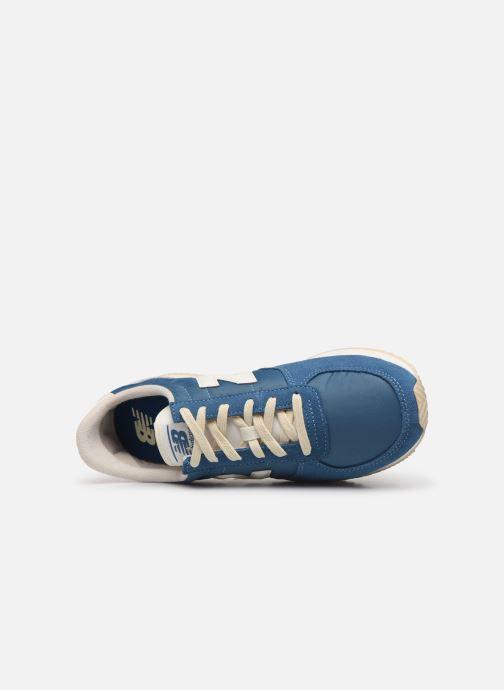 Sneaker New Balance U220 D blau ansicht von links
