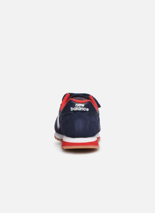 Baskets New Balance YV520 M Bleu vue droite