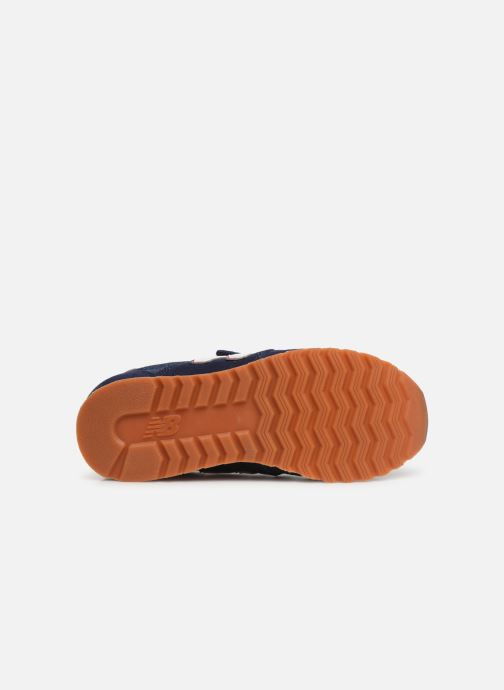 Baskets New Balance YV520 M Bleu vue haut