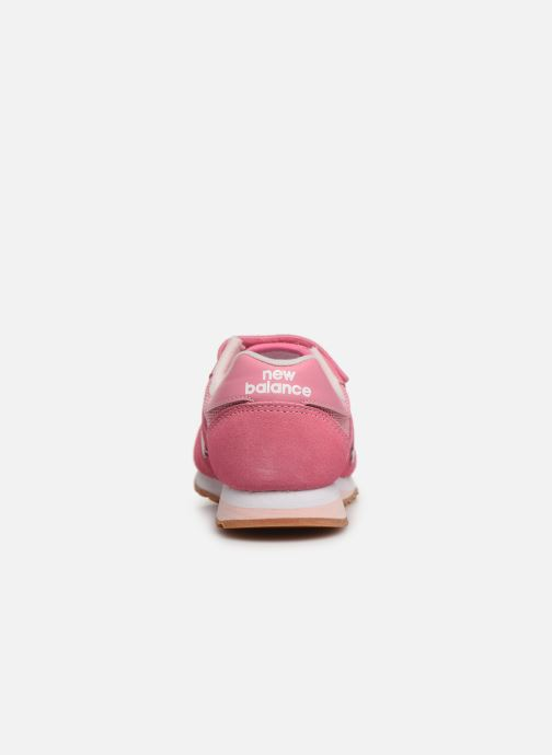 Trainers New Balance YV520 M Pink view from the right