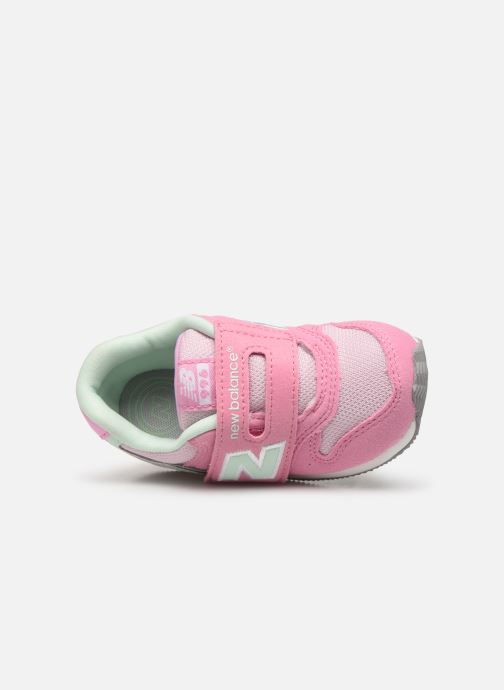 Baskets New Balance IV996 M Rose vue gauche
