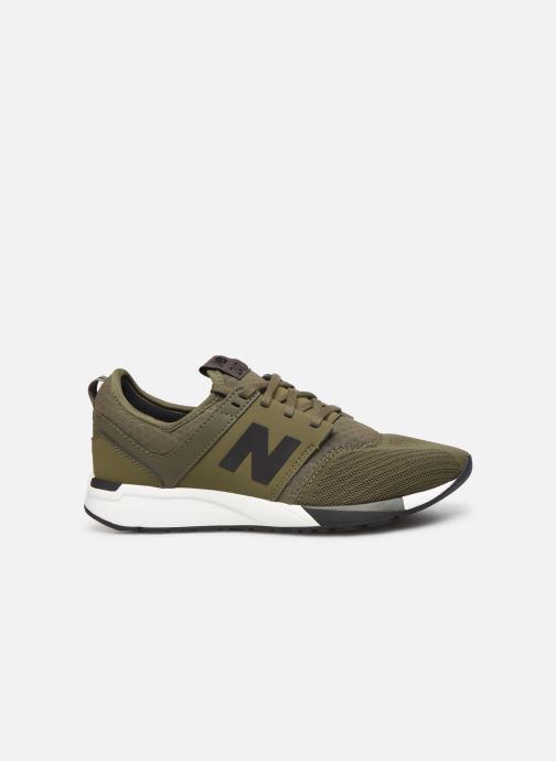Trainers New Balance KL247 M SMU Green back view