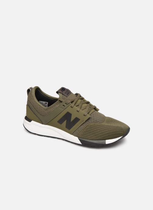 Trainers New Balance KL247 M SMU Green detailed view/ Pair view