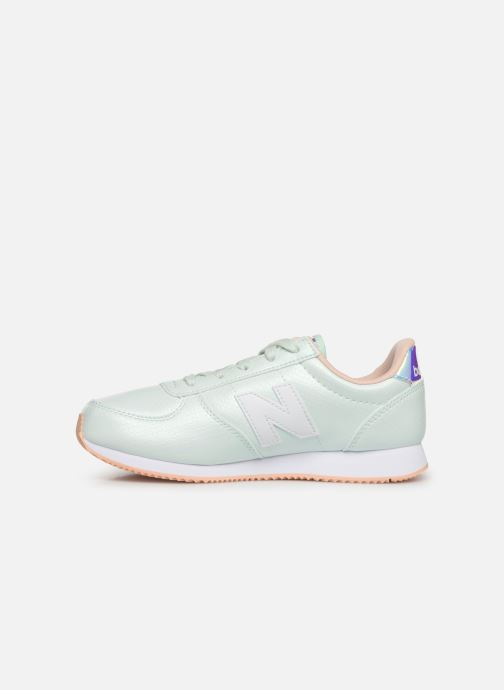 Sneakers New Balance YC220 M Blauw voorkant